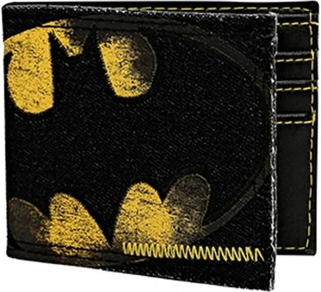DC Comics: Batman Logo - Denim Bi-fold Wallet