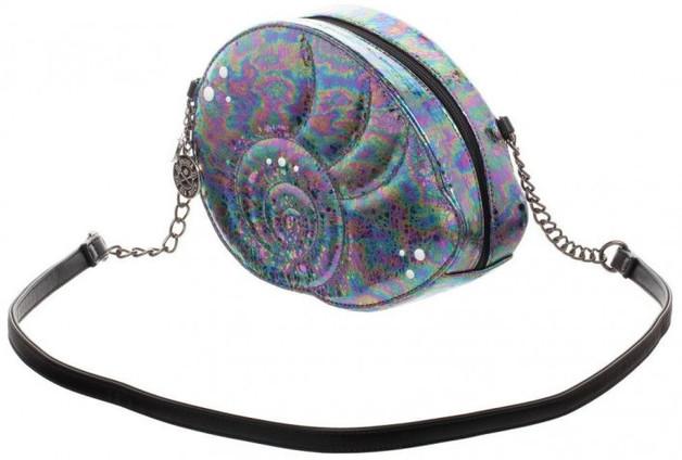 Ursula Iridescent PU Shell Handbag