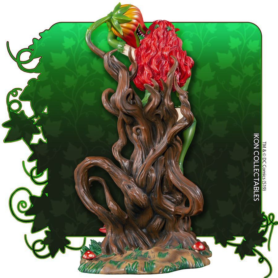 Batman Poison Ivy Thorn Throne 12 Premium Statue With A Chance For A Chase Version