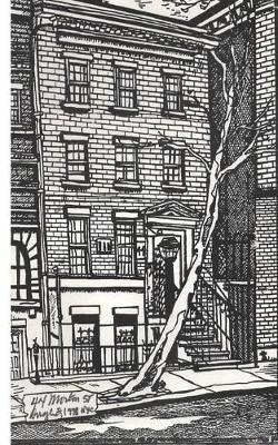 Greenwich Village Writing Drawing Journal by Michael Charlie Dougherty