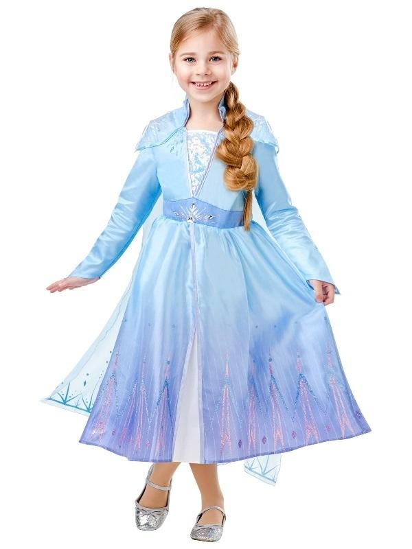 Disney's Frozen 2: Elsa - Deluxe Costume (6-8 Years)