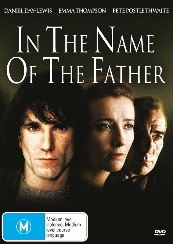 In The Name of The Father on DVD