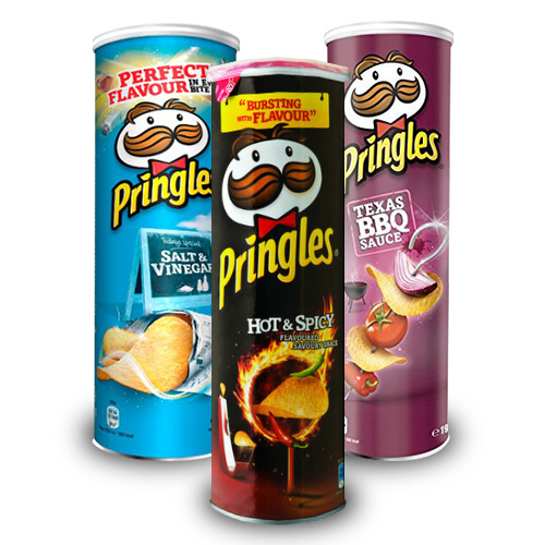 Pringles Spicy Mixed Pack 165g 6pk