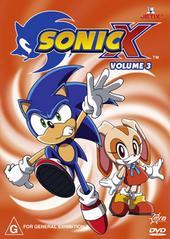Sonic X - Volume 03 on DVD