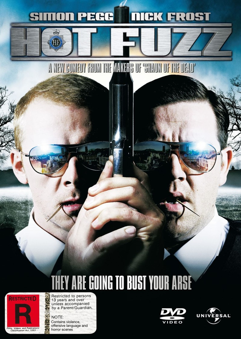 Hot Fuzz on DVD image