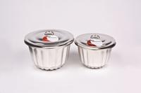 Pudding Steamer 1 Litre - Fluted