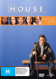 House, M.D. - Season 1 (6 Disc Slimline Set) on DVD