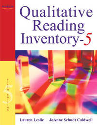 Qualitative Reading Inventory by Lauren Leslie image