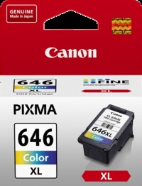 Canon Ink Cartridge - CL646XL (Colour High Yield)