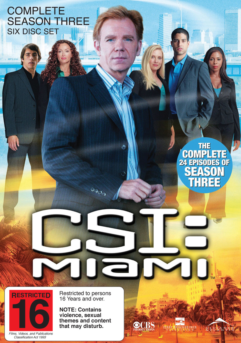 CSI - Miami: Complete Season 3 on DVD image