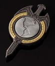 Star Trek: TNG Mirror Universe - Magnetic Badge
