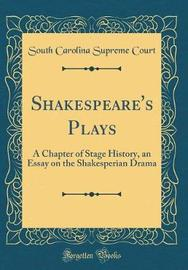 Shakespeare's Plays by South Carolina Supreme Court image