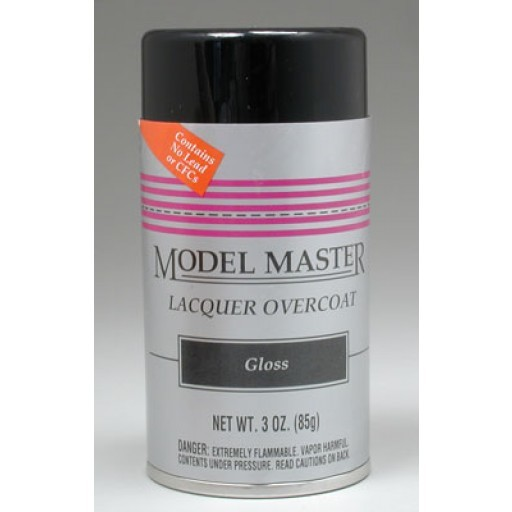 Model Master: Enamel Aerosol - Clear (Gloss)