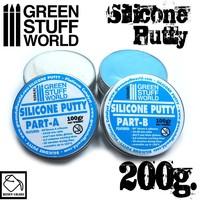 Green Stuff World: Blue Silicone Putty (200gm)