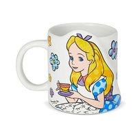 Disney Alice in Wonderland : Alice Mug by Romero Britto