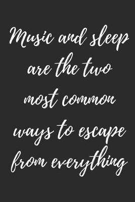 Music And Sleep by Hafiz Aldino