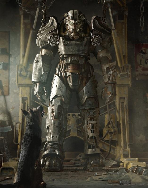 Fallout - Premium Art Print - Fallout 4