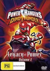Power Rangers Dinothunder: Vol 2: Legacy Of Power on DVD