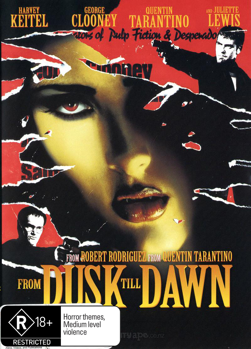 From Dusk Till Dawn on DVD image