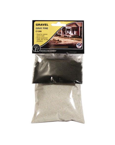 Woodland Scenics Gravel Grey - Fine