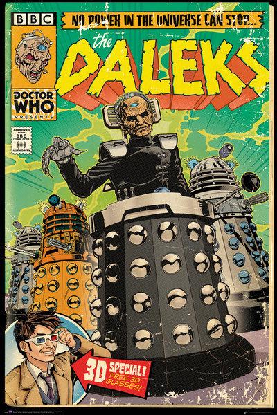 Dr Who Maxi Poster - Davros Comic (613)