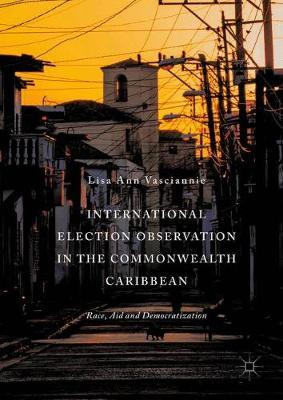 International Election Observation in the Commonwealth Caribbean by Lisa Ann Vasciannie image