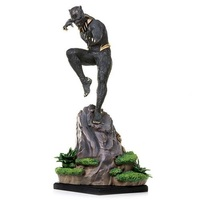 Black Panther: 1/10 Erik Killmonger - Battle Diorama Statue