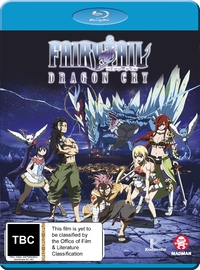 Fairy Tail: Dragon Cry on Blu-ray