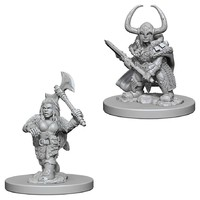 D&D Nolzur's Marvelous: Unpainted Miniatures - Dwarf Female Barbarian image