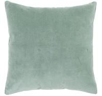 Bambury Velvet European Pillowcase (Eucalyptus) image