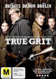 True Grit (2010) on DVD