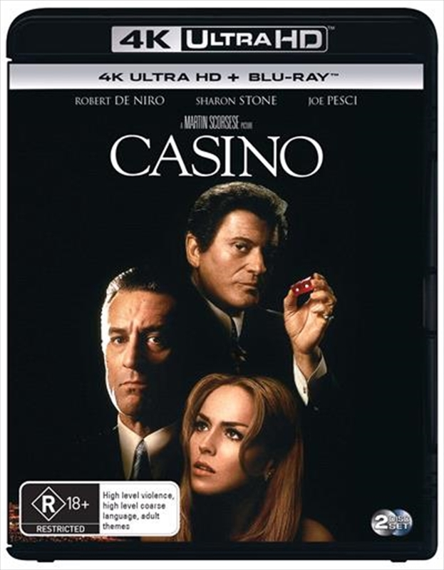 Casino on UHD Blu-ray
