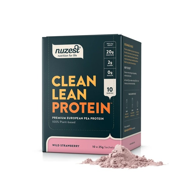 Nuzest: Clean Lean Protein - Wild Strawberry (10x25g)