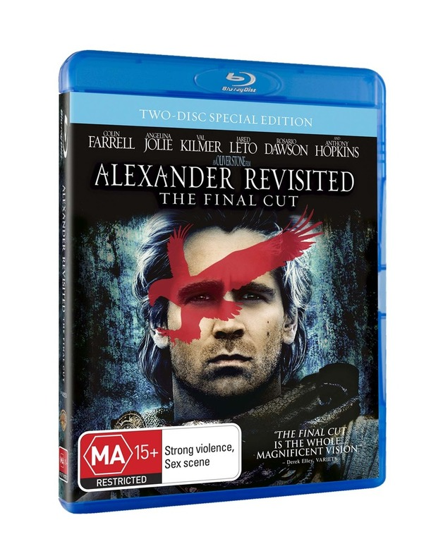Alexander Revisited - The Final Cut on Blu-ray