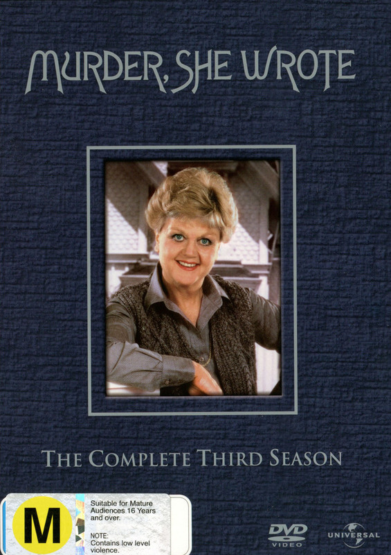 Murder, She Wrote - Complete Season 3 (6 Disc Set) on DVD