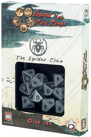 Legend of the 5 Rings Dice Set - Spider Clan