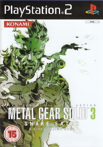 Metal Gear Solid 3: Snake Eater for PS2