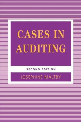 Cases in Auditing by Josephine Maltby