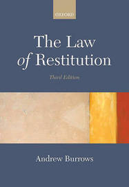 The Law of Restitution by Andrew Burrows