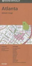 Folded Map Atlanta Streets Ga by Rand McNally