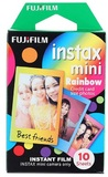 Fujifilm Instax Mini Film 10 Pack - Rainbow