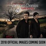 Vampire Diaries 2018 Square Wall Calendar