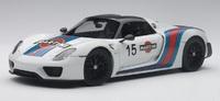 Autoart: 1/18 Porsche 918 Spyder - Diecast Model