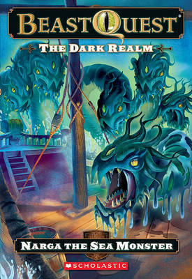 The Dark Realm: Narga the Sea Monster by Adam Blade image