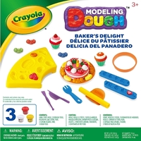 Crayola: Dough Activity Set - Baker's Delight