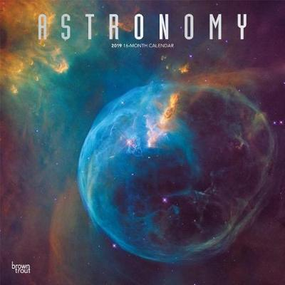 Astronomy 2019 Square Wall Calendar by Inc Browntrout Publishers image
