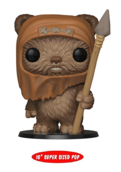 "Star Wars: Wicket - 10"" Super Sized Pop! Vinyl Figure"