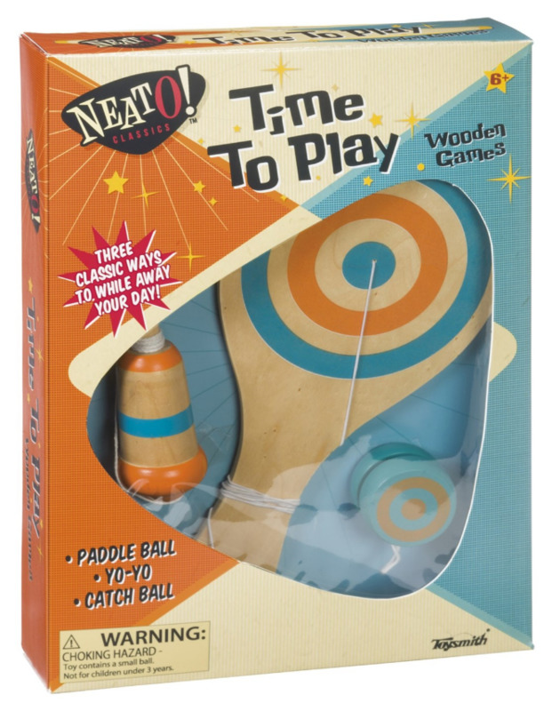 Neato Classics: Time to Play - Wooden Playset