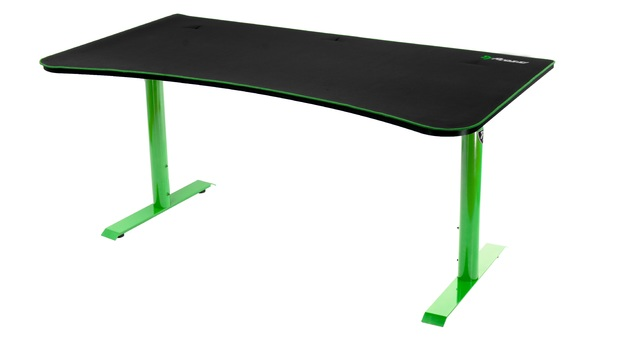 Arozzi Arena Gaming Desk (Green) for