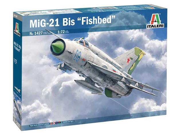 Italeri: 1/72 MiG-21 Bis Fishbed - Model Kit